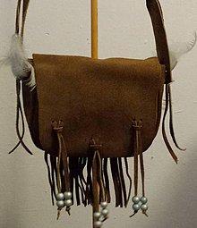 Kabelky - malinká indiánska - 8107328_
