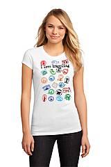 """Tričká - Tričko """"milujem cestovanie 01""""  dámske a dievčenské - 8108954_"""