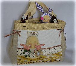 Iné tašky - Textilná hravá kabela - 8109403_