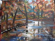 Obrazy - Daždivá jeseň - 8107726_