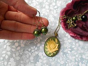 Sady šperkov - Zámocká ruža VII. - 8109199_