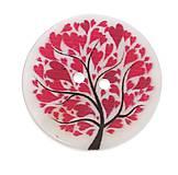 Galantéria - Perleťový gombík strom života 2cm - 8109019_