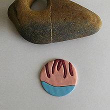 Náhrdelníky - Mozaikový prívesok (lákavý dotyk) - 8109099_