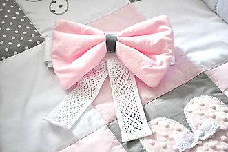 Textil - Samostatne mašľa bez baldachýnu z kolekcie LOVE - 8113095_