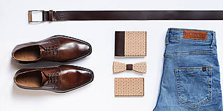 Peňaženky - Drevená peňaženka Virie Virilia - 8113593_
