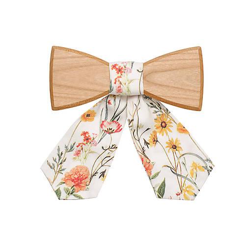 ORIGINÁL – Dámsky drevený motýlik Pae