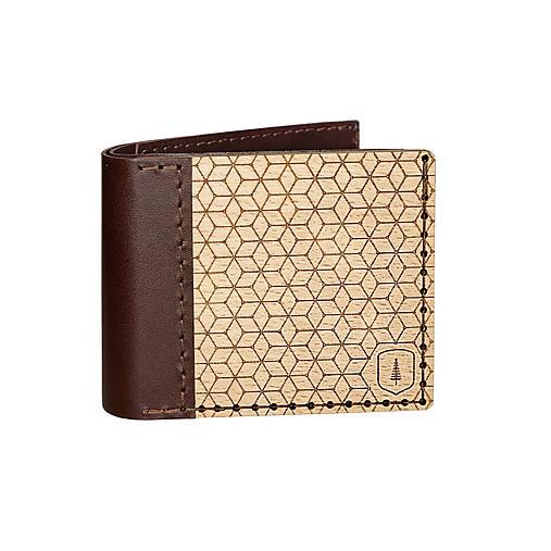 Drevená peňaženka Virie Virilia