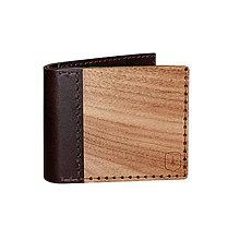 Peňaženky - Drevená peňaženka Virilia - 8113518_