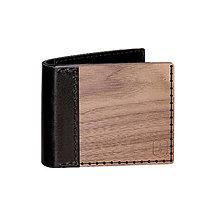 Peňaženky - Drevená peňaženka Nox Virilia - 8113562_