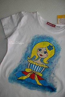 Detské oblečenie - detské tričko - lambáda - biele - 8112441_