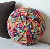 Úžitkový textil - Farebný vankúš - 8111468_
