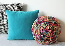 Úžitkový textil - Farebný vankúš - 8111479_