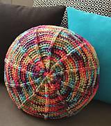 Úžitkový textil - Farebný vankúš - 8111480_