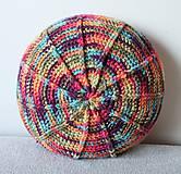 Úžitkový textil - Farebný vankúš - 8111481_