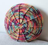 Úžitkový textil - Farebný vankúš - 8111484_
