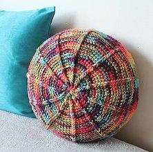 Úžitkový textil - Farebný vankúš - 8111466_