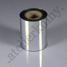 Pomôcky/Nástroje - Fólia 60mx6cm pre aplikáciu na čiernu laserovú tlač strieborná - 8113484_