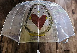 Iné doplnky - Dáždnik s ježkom - 8112419_