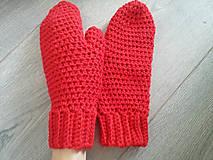 Rukavice - P a l č i a k y /..červené - 8113648_