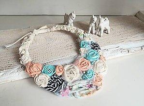 Náhrdelníky - Pastelková nežnosť ♥ - 8112668_