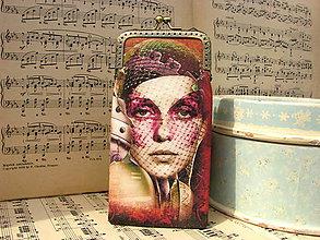 Taštičky - Víceúčelová kapsička - Steampunk Lady - sleva z 12,5eur - 8111278_