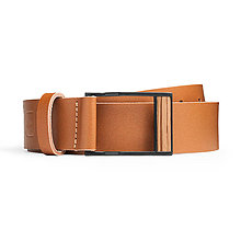Opasky - Kožený opasok Brunne Belt - 8113882_