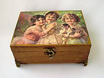 Krabičky - Šperkovnica- Dievčatká - 8114910_