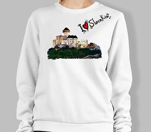 Mikina Trenčiansky hrad ILS 01