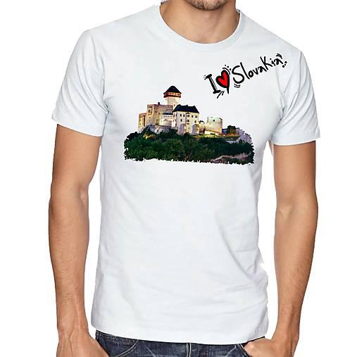 Tričko  Trenčiansky hrad ILS 01