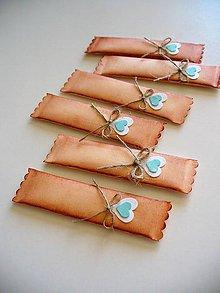 Darčeky pre svadobčanov - svadobná žuvačka s patinou - 8115987_