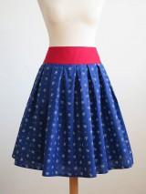Sukne - sukňa s červeným pásom - 8117061_