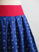 Sukne - sukňa s červeným pásom - 8117062_