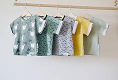 Detské oblečenie - Tričko Hory - 8115454_