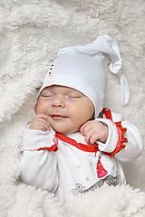 Baby čiapka uzlík s menom