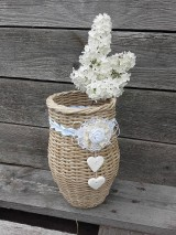 Dekorácie - Váza (Biela) - 8118621_