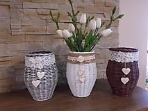 Dekorácie - Váza (Biela) - 8118626_