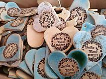 Darčeky pre svadobčanov - darčeky pre svadobčanov - keramické magnetky  - 8119240_