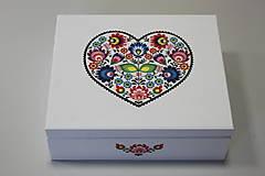 Krabičky - HM - Krabička na čaj - 9 priehradková - 8119144_