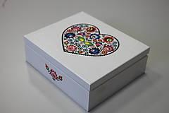 Krabičky - HM - Krabička na čaj - 9 priehradková - 8119164_