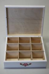 Krabičky - HM - Krabička na čaj - 9 priehradková - 8119165_