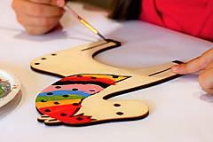 Hračky - Kreatívna edukačná hračka koník - Na dotvorenie - 8118490_
