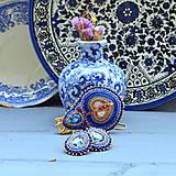 Voyage en Arabie  - Blue Folk - sada šperků