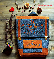 Batohy - Ľudový batôžtek IIa - 8119739_
