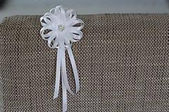 Pierka - Biele svadobné pierka pre otcov/starejšieho - 8120959_
