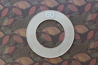 Galantéria - šablóna na výrobu gombíkov o priemere 42 mm - 8120417_