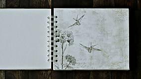 Papiernictvo - Vintage svadobný album/rodinný album BLISS 2 - 8120569_
