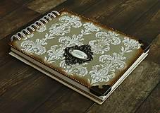 Papiernictvo - Vintage svadobný album/rodinný album BLISS 2 - 8120570_