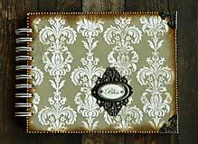 Papiernictvo - Vintage svadobný album/rodinný album BLISS 2 - 8120571_