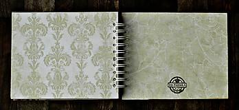 Papiernictvo - Vintage svadobný album/rodinný album BLISS 2 - 8120574_