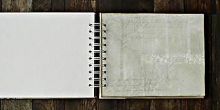 Papiernictvo - Vintage svadobný album/rodinný album BLISS 2 - 8120575_
